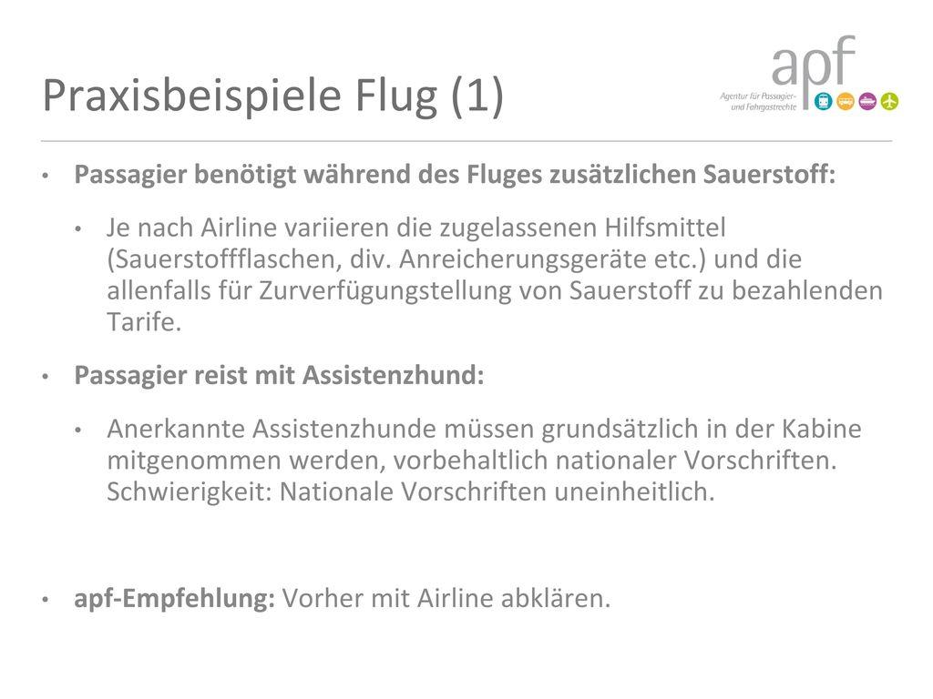 Praxisbeispiele Flug (1)