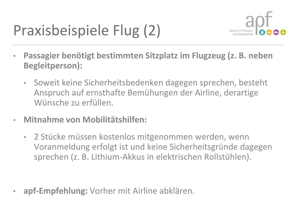 Praxisbeispiele Flug (2)