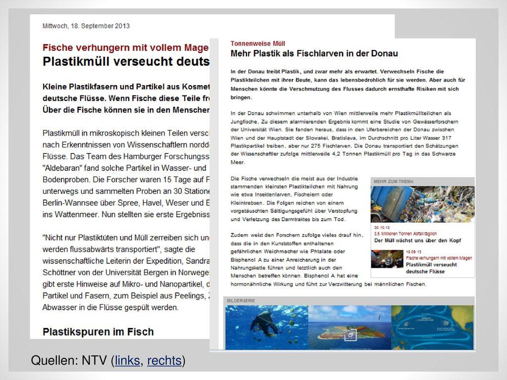 Quellen: NTV (links, rechts)