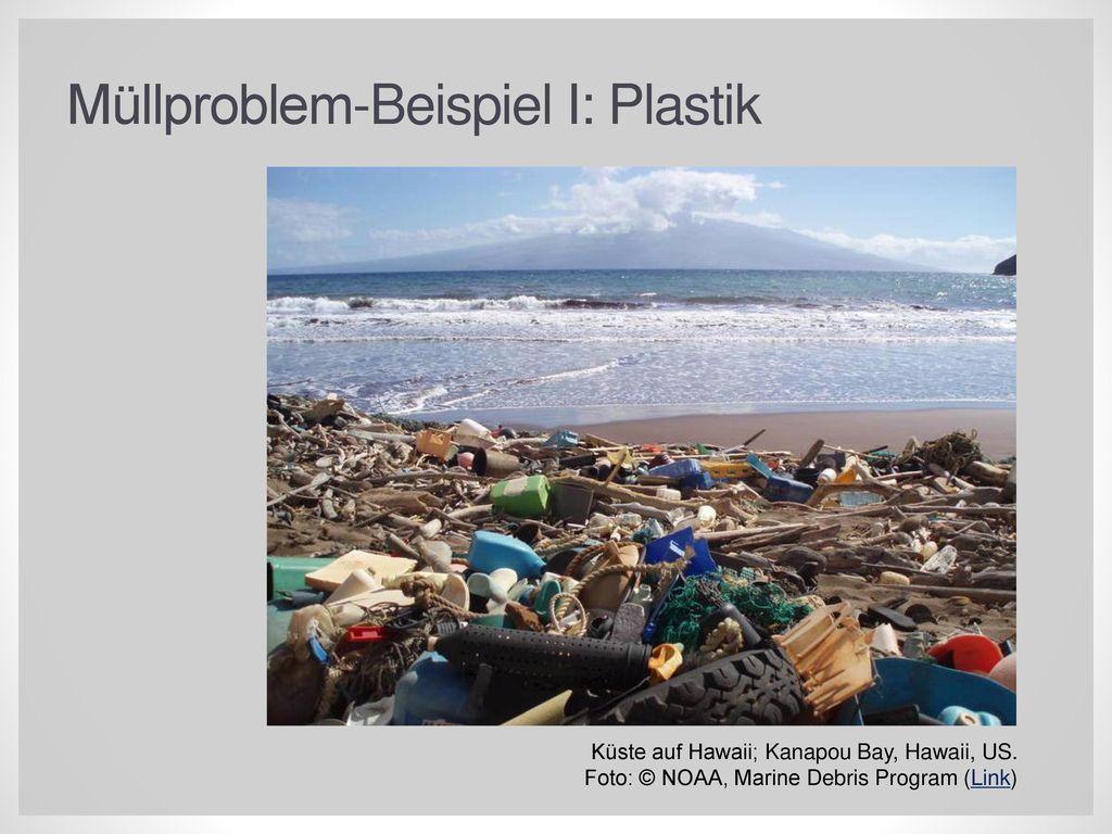 Müllproblem-Beispiel I: Plastik