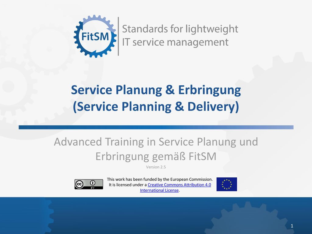Service Planung & Erbringung (Service Planning & Delivery)