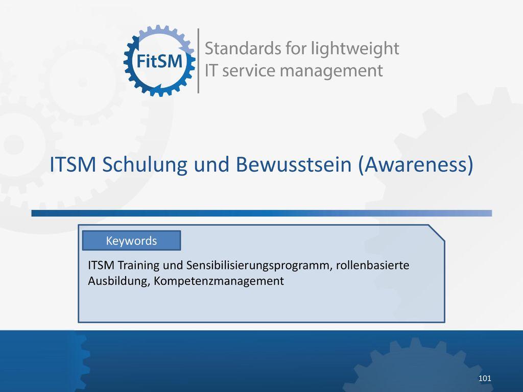 ITSM Schulung und Bewusstsein (Awareness)