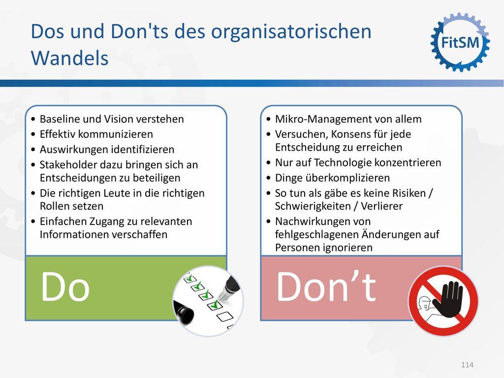 Dos und Don ts des organisatorischen Wandels