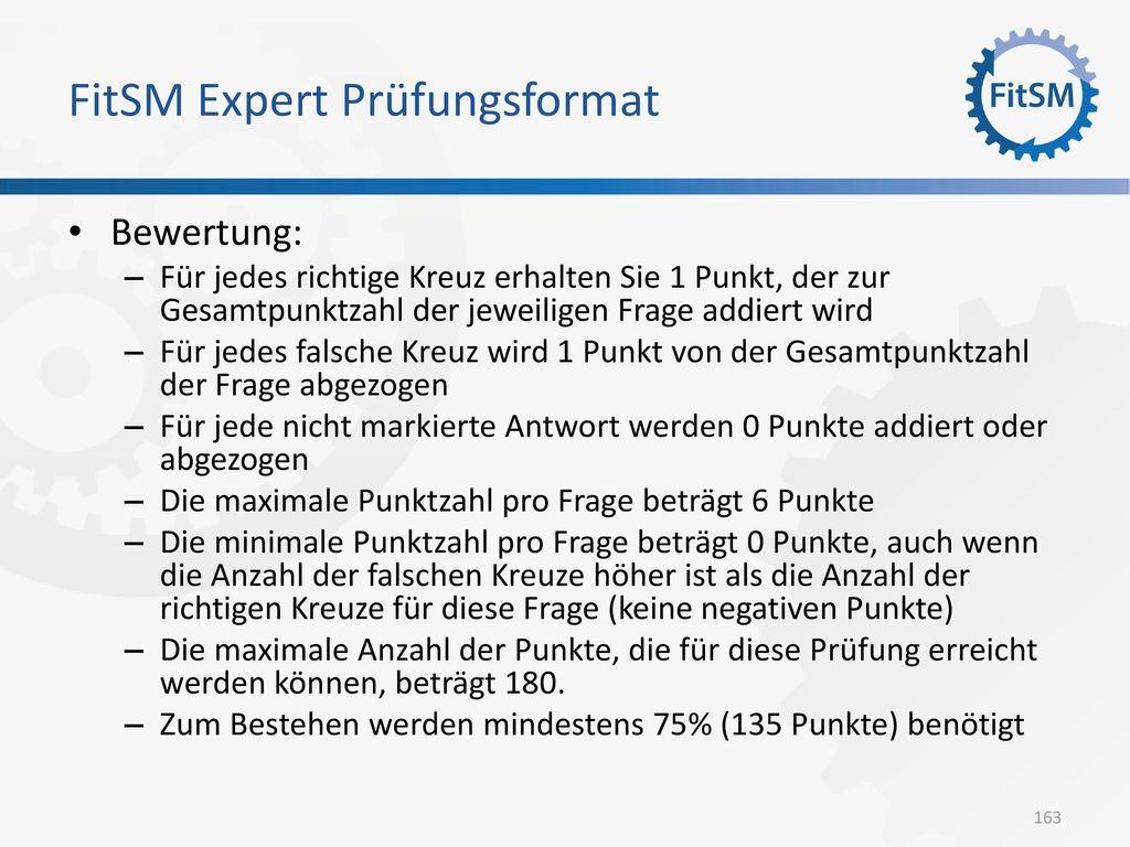FitSM Expert Prüfungsformat