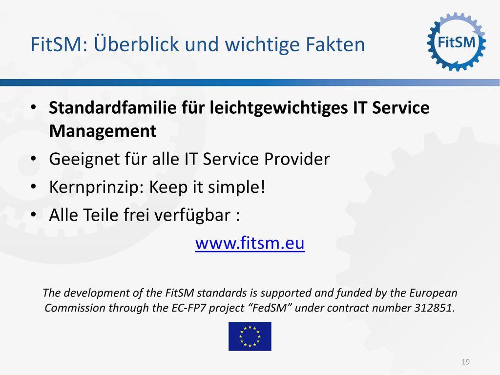 FitSM: Überblick und wichtige Fakten