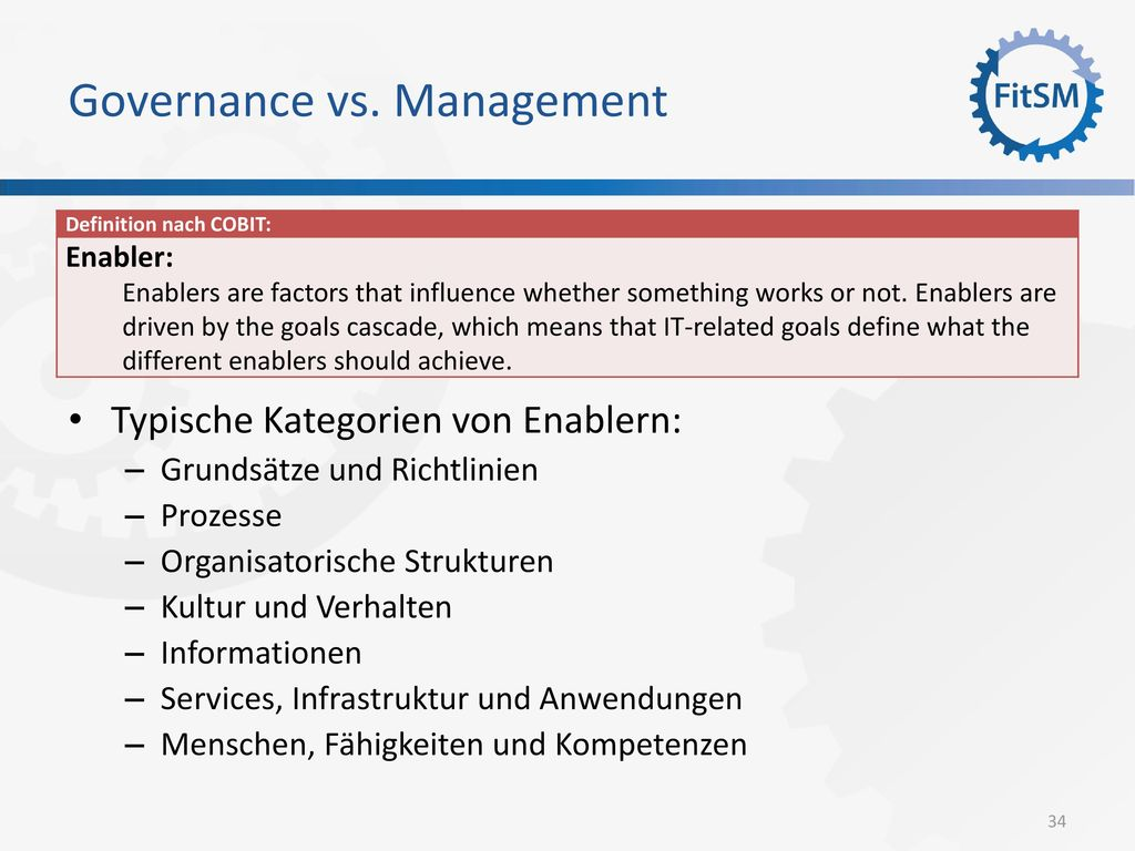 Governance vs. Management