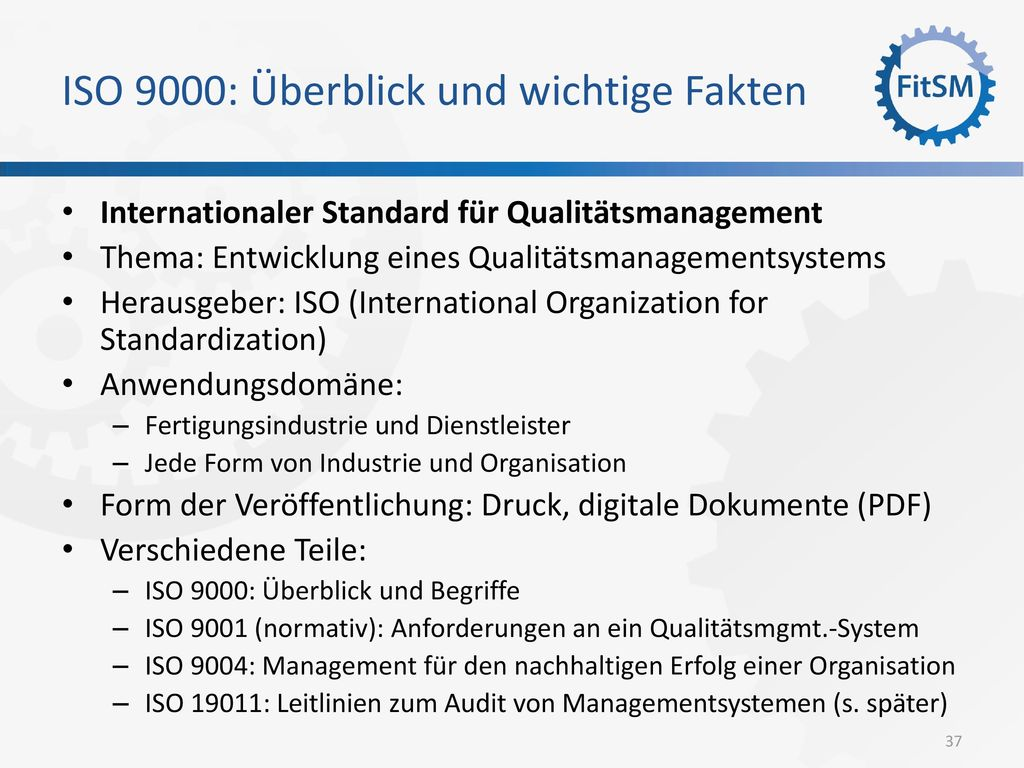 ISO 9000: Überblick und wichtige Fakten