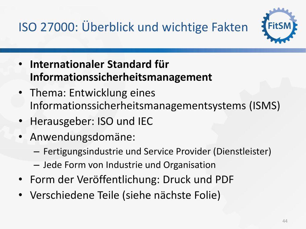 ISO 27000: Überblick und wichtige Fakten