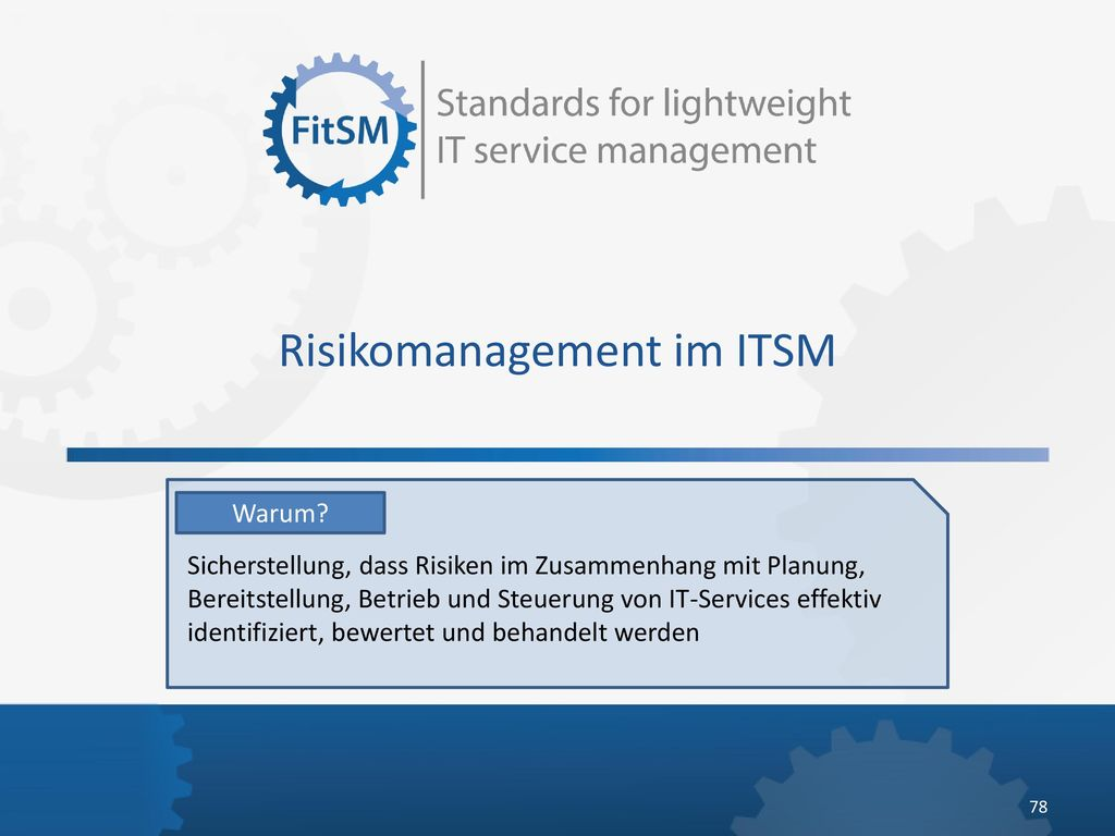 Risikomanagement im ITSM