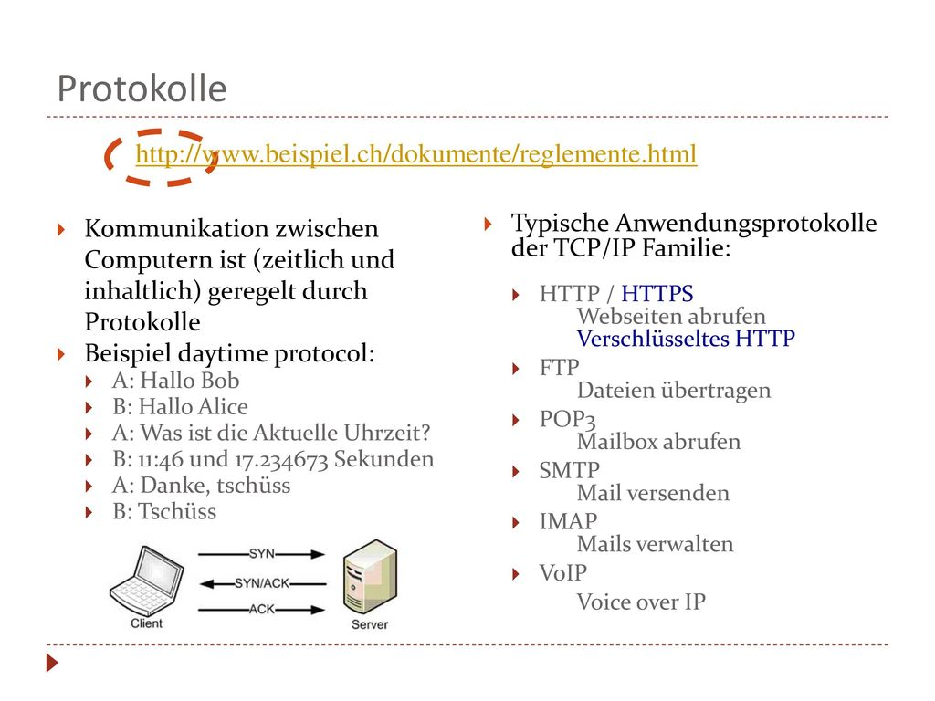 Protokolle http://www.beispiel.ch/dokumente/reglemente.html