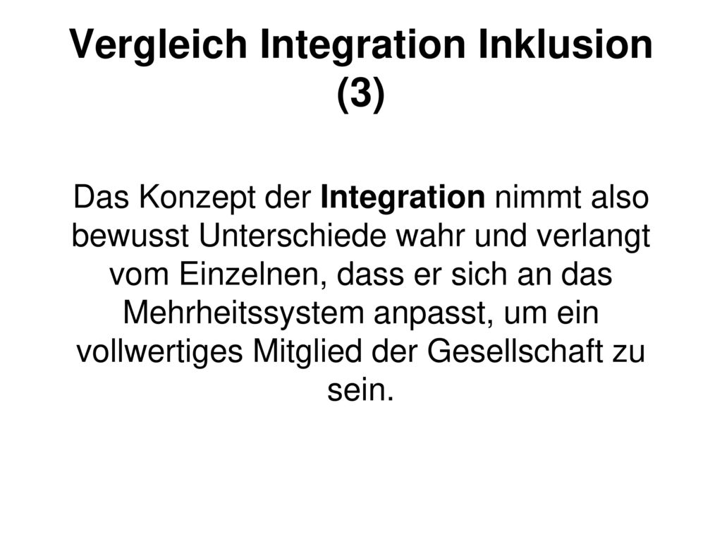 Vergleich Integration Inklusion (3)