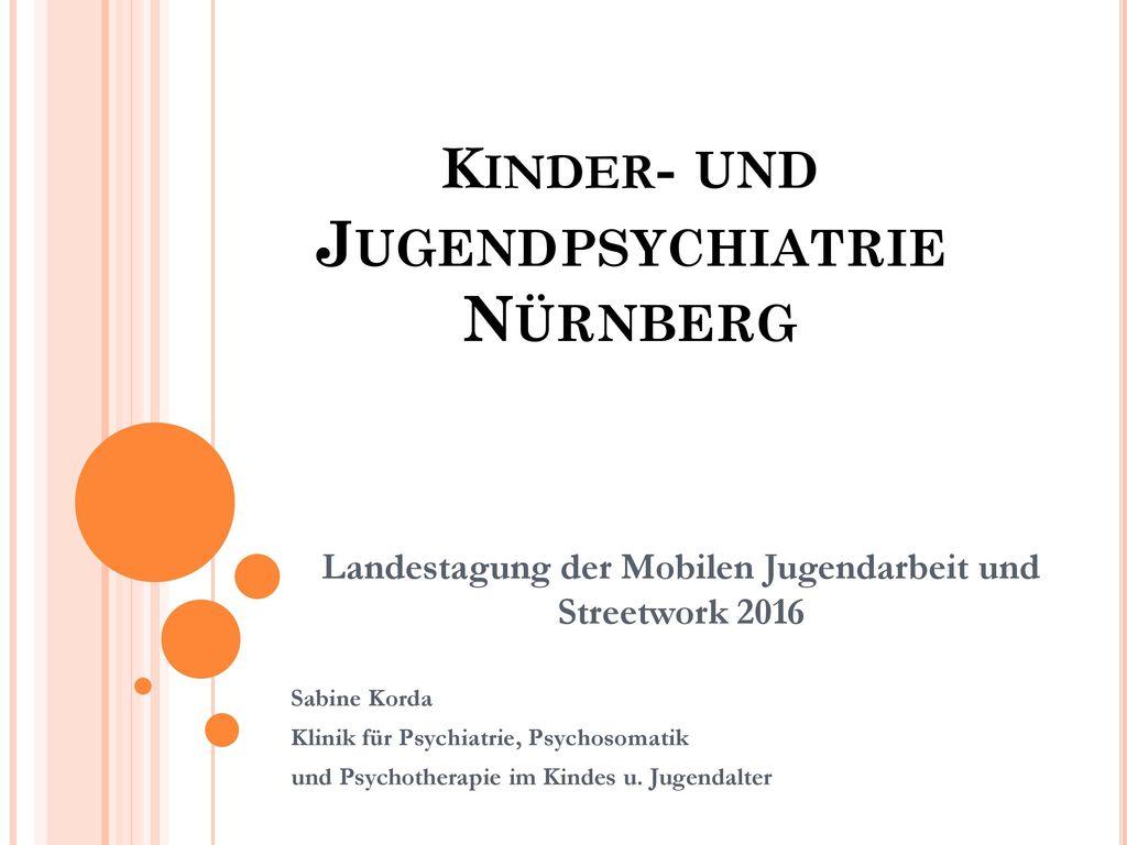 Kinder- und Jugendpsychiatrie Nürnberg