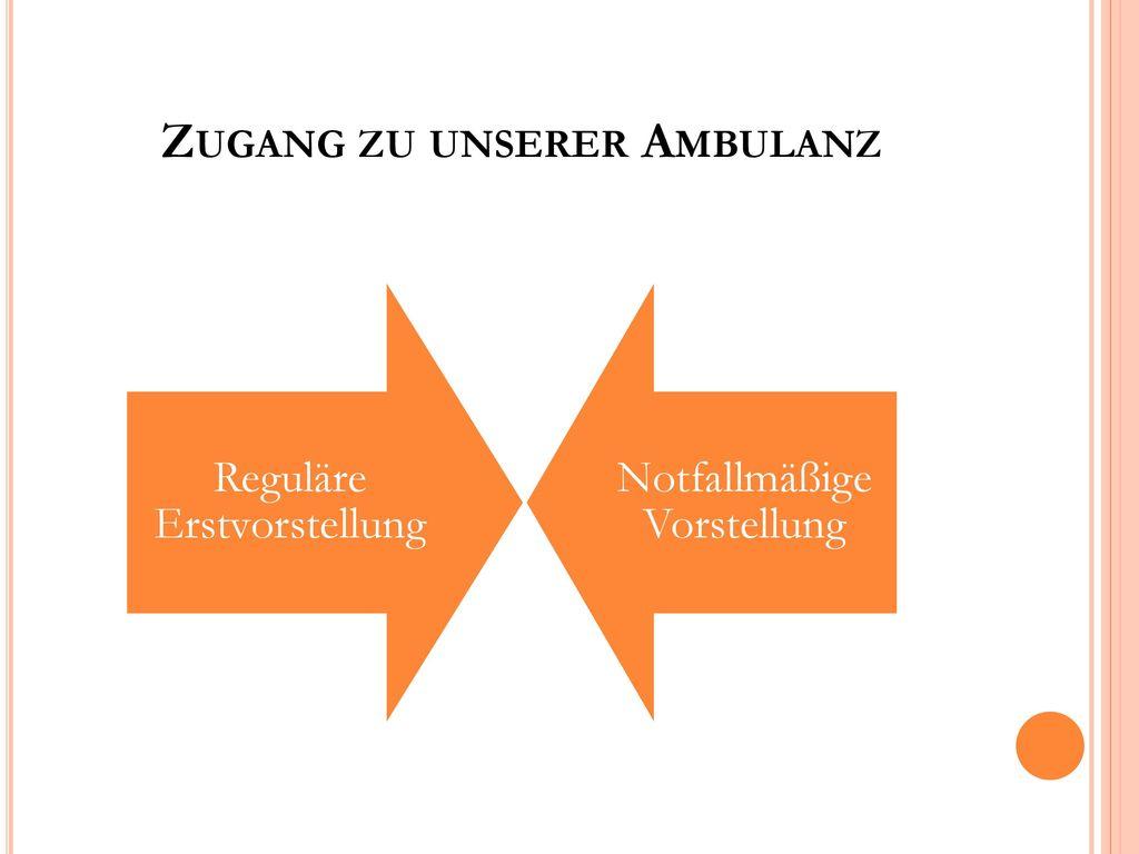 Zugang zu unserer Ambulanz
