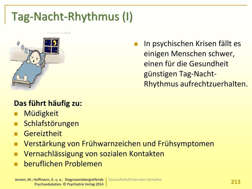 Tag-Nacht-Rhythmus (I)