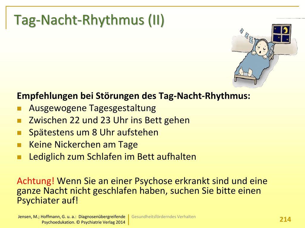Tag-Nacht-Rhythmus (II)