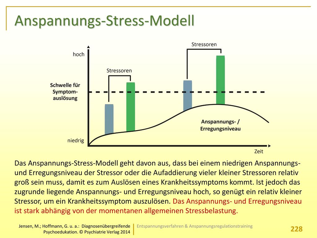 Anspannungs-Stress-Modell