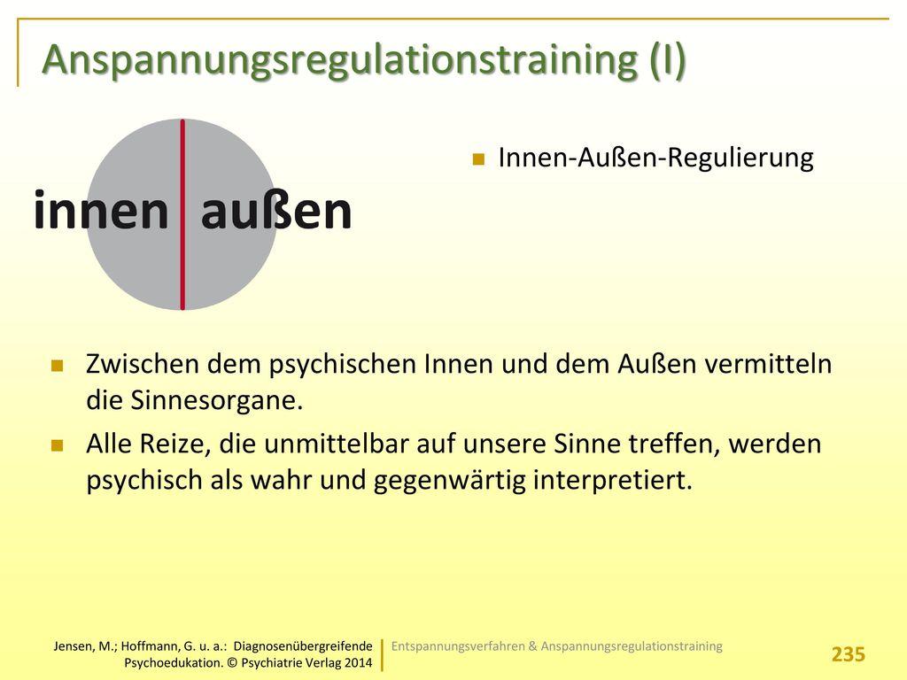 Anspannungsregulationstraining (I)