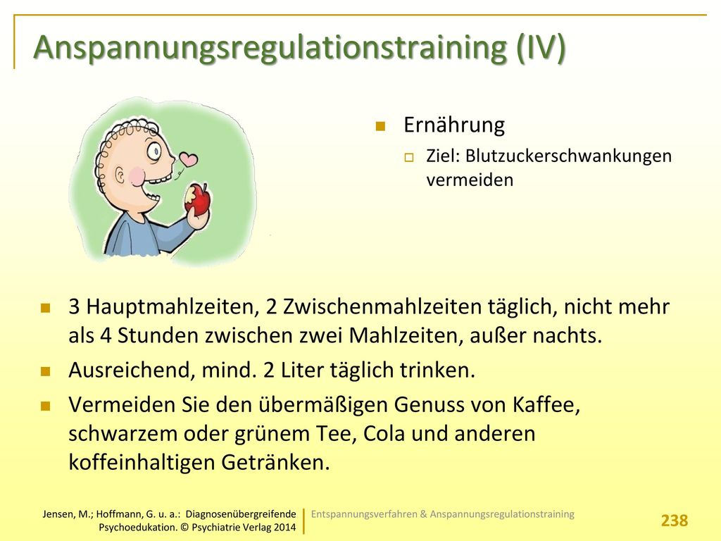 Anspannungsregulationstraining (IV)