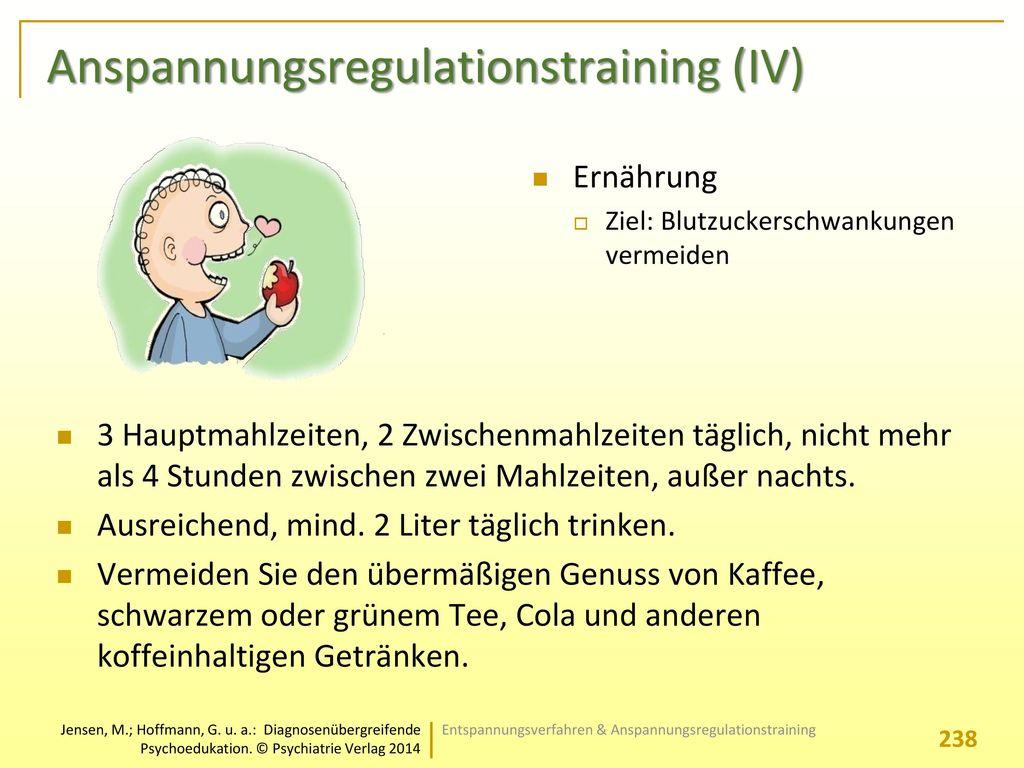 Anspannungsregulationstraining (IV)