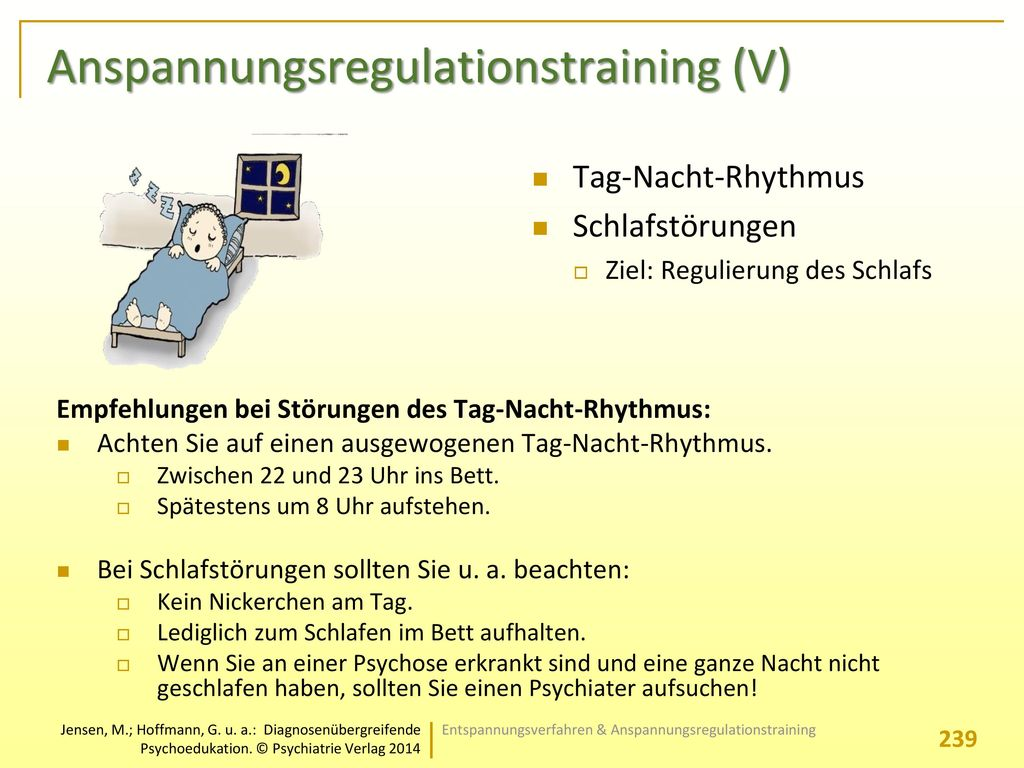 Anspannungsregulationstraining (V)
