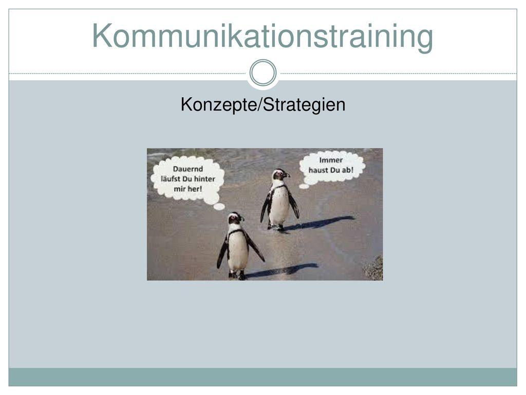 Kommunikationstraining