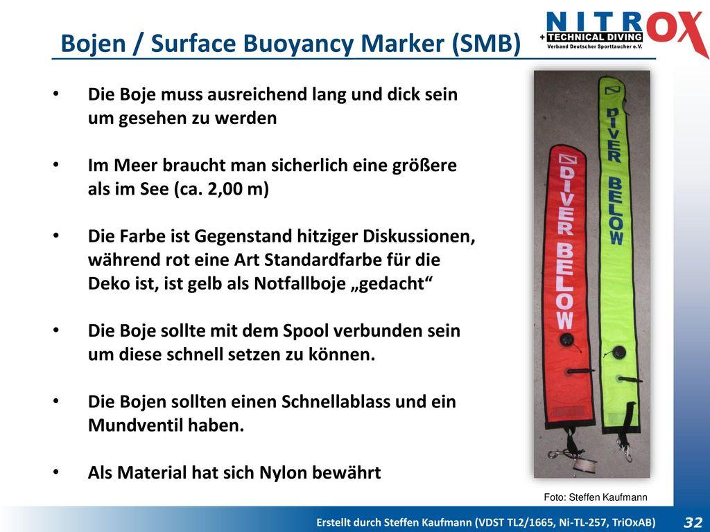 Bojen / Surface Buoyancy Marker (SMB)