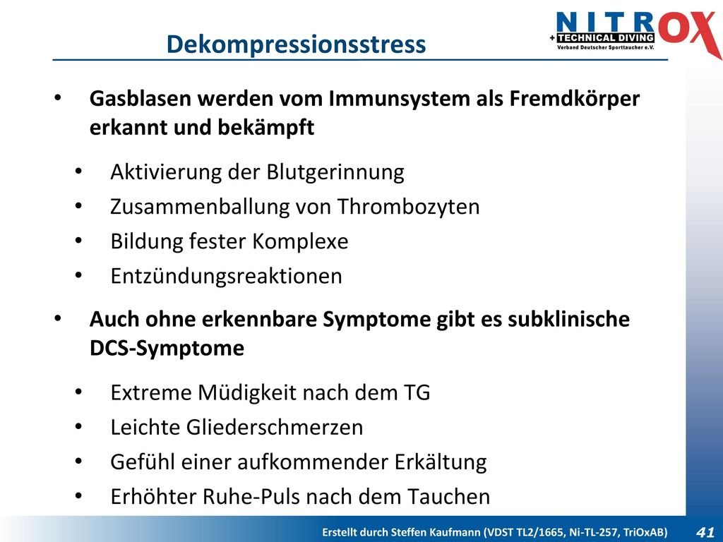 Dekompressionsstress