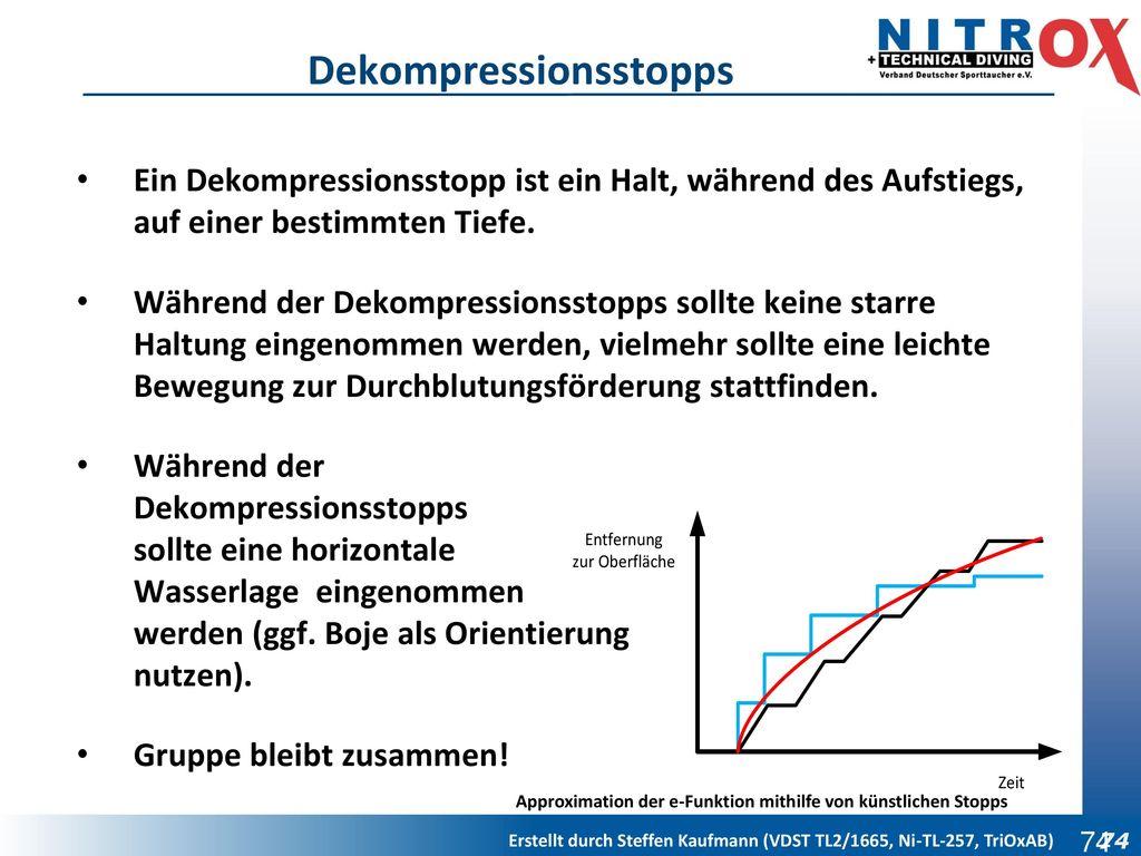 Dekompressionsstopps