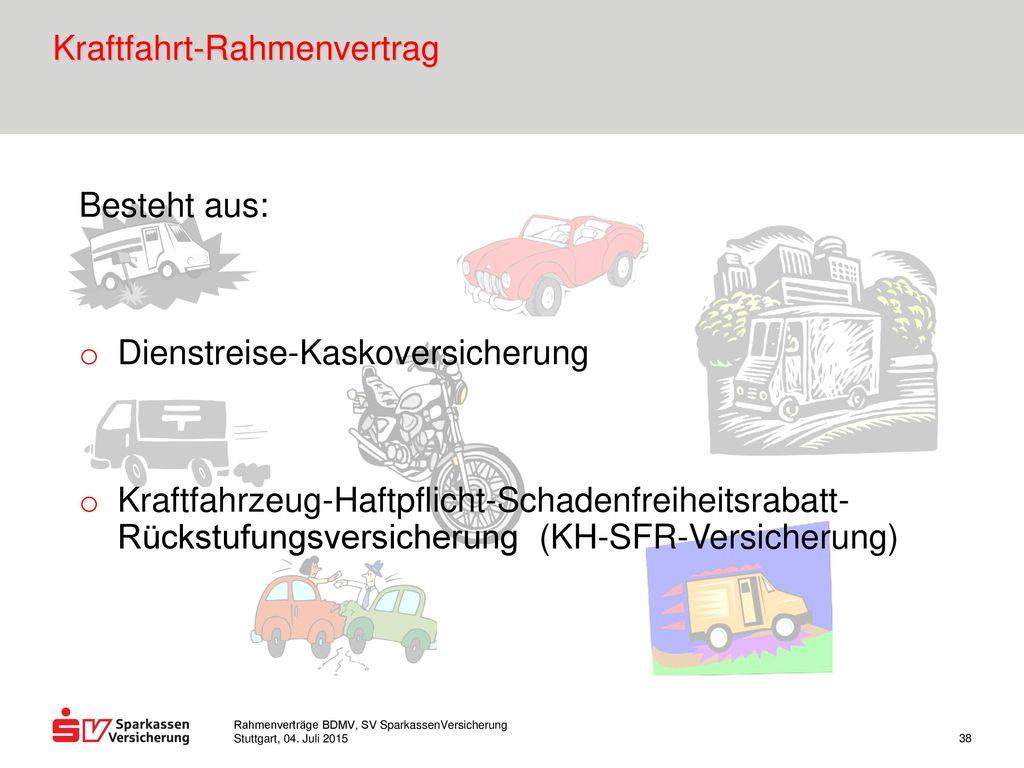 Kraftfahrt-Rahmenvertrag
