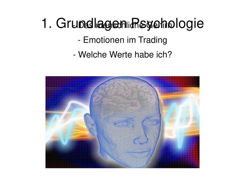 1. Grundlagen Psychologie