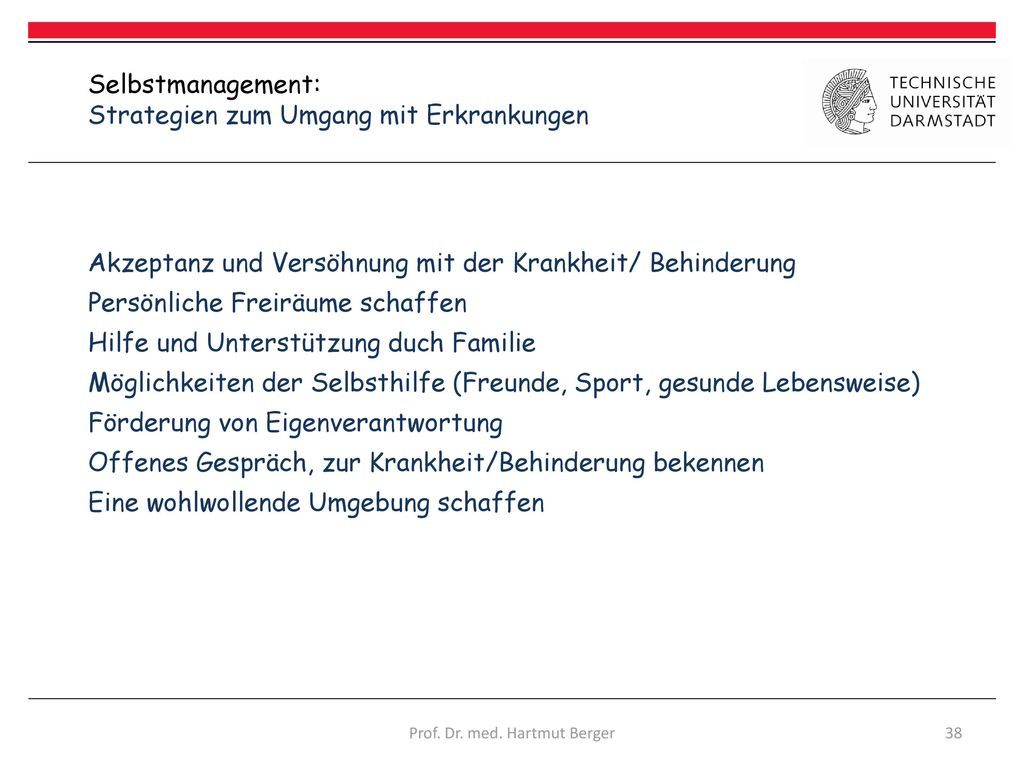 Prof. Dr. med. Hartmut Berger