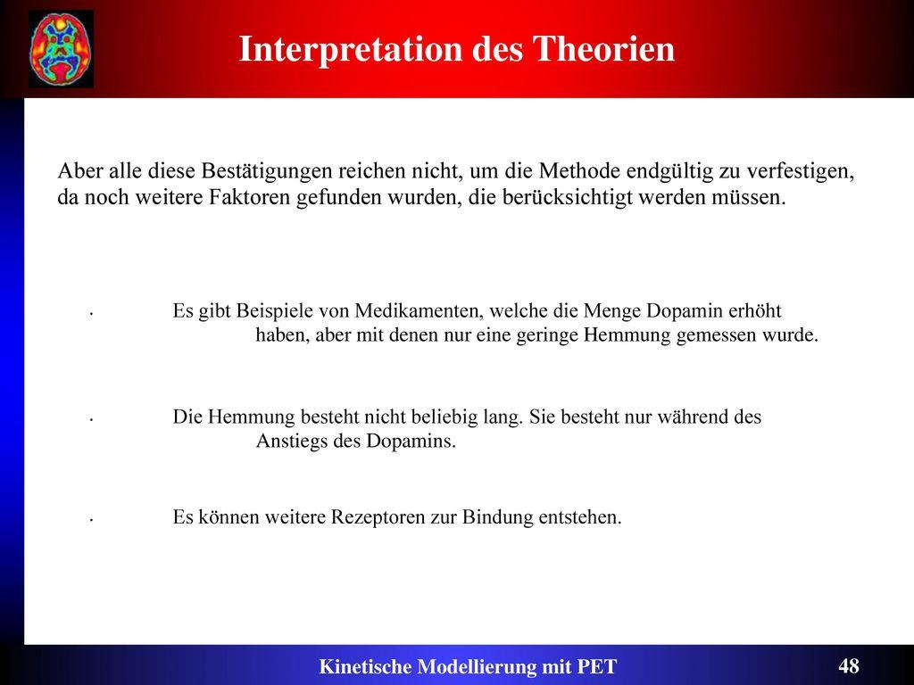 Interpretation des Theorien