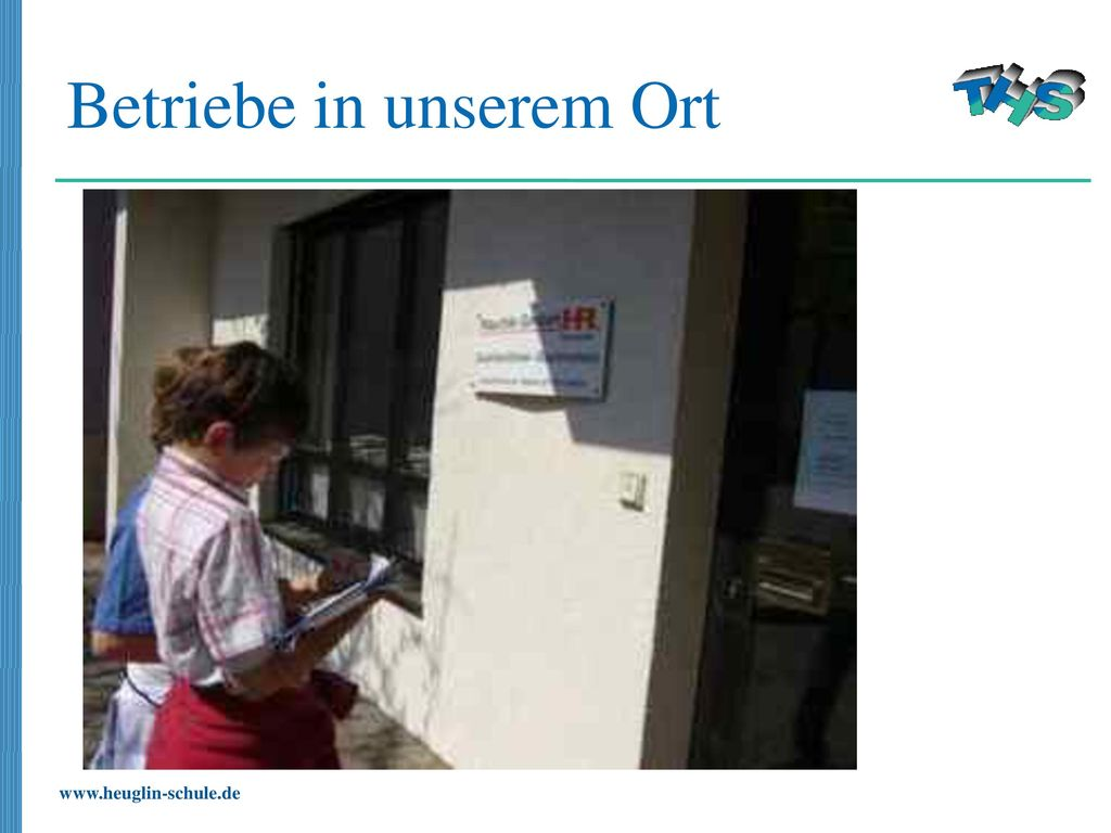 Betriebe in unserem Ort