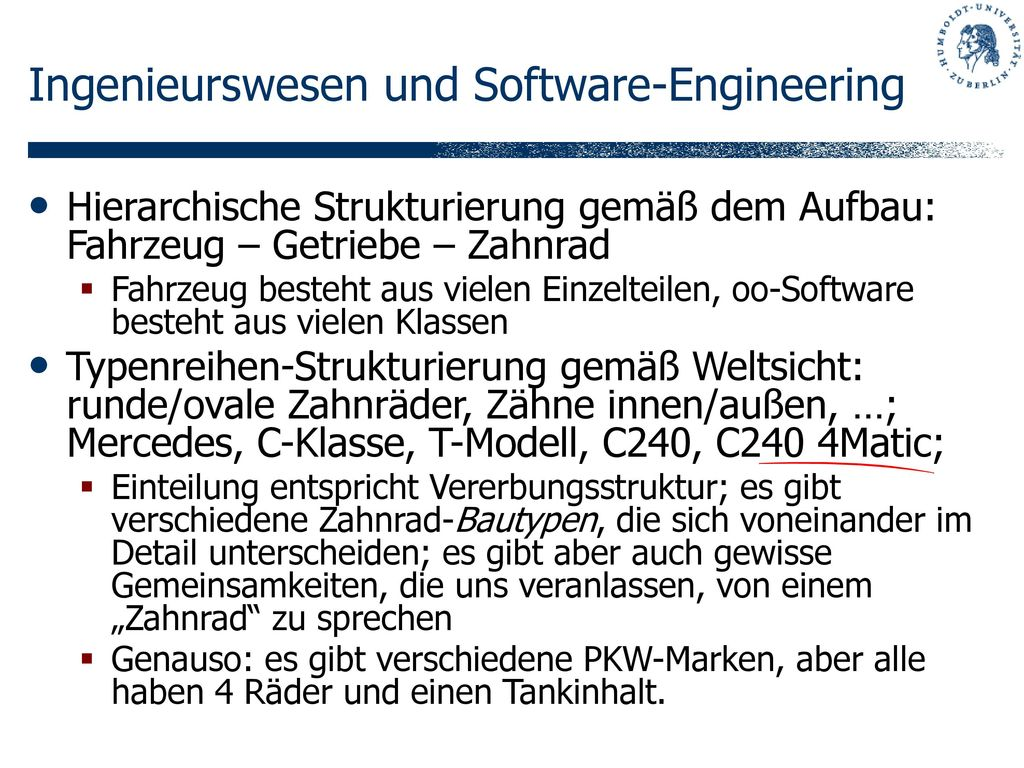 Ingenieurswesen und Software-Engineering