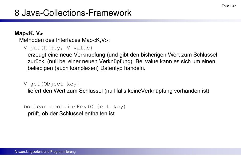 8 Java-Collections-Framework
