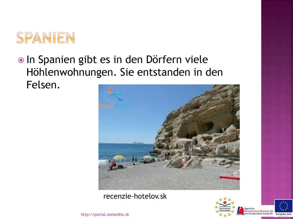 spanien In Spanien gibt es in den Dörfern viele Höhlenwohnungen. Sie entstanden in den Felsen. recenzie-hotelov.sk.