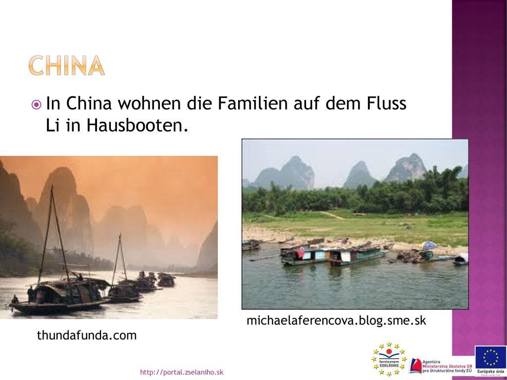 china In China wohnen die Familien auf dem Fluss Li in Hausbooten.