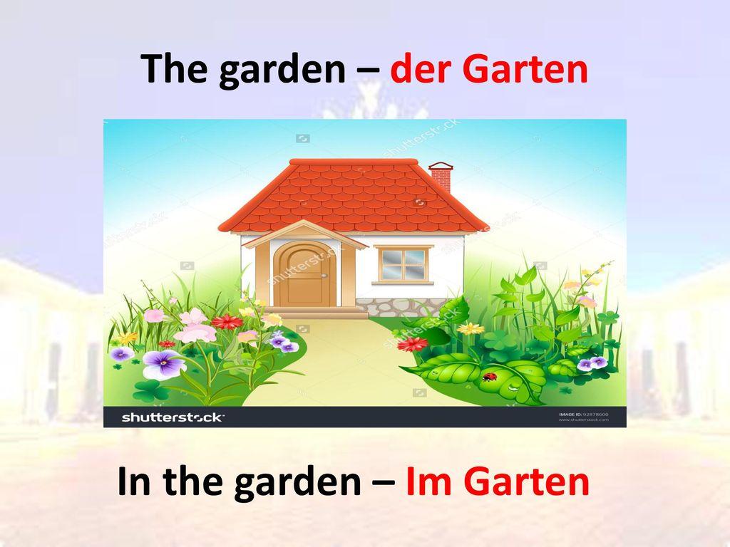 In the garden – Im Garten