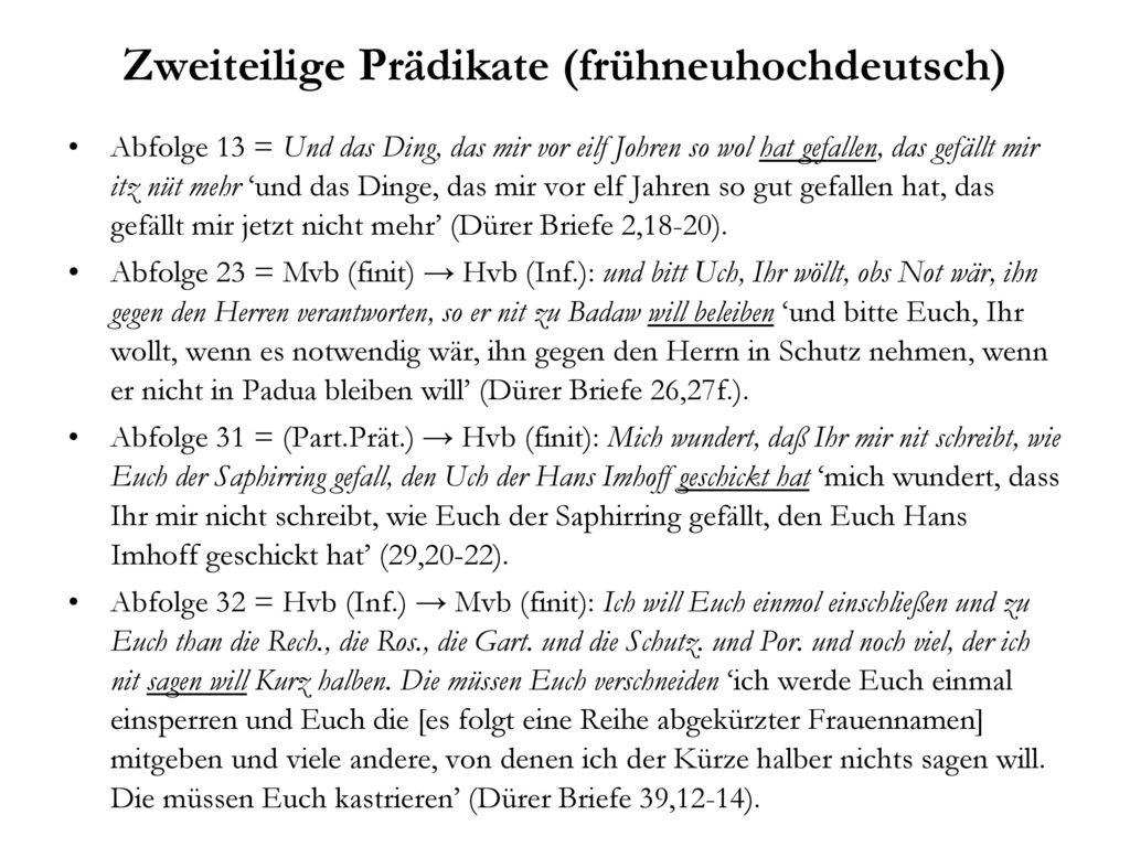 Zweiteilige Prädikate (frühneuhochdeutsch)