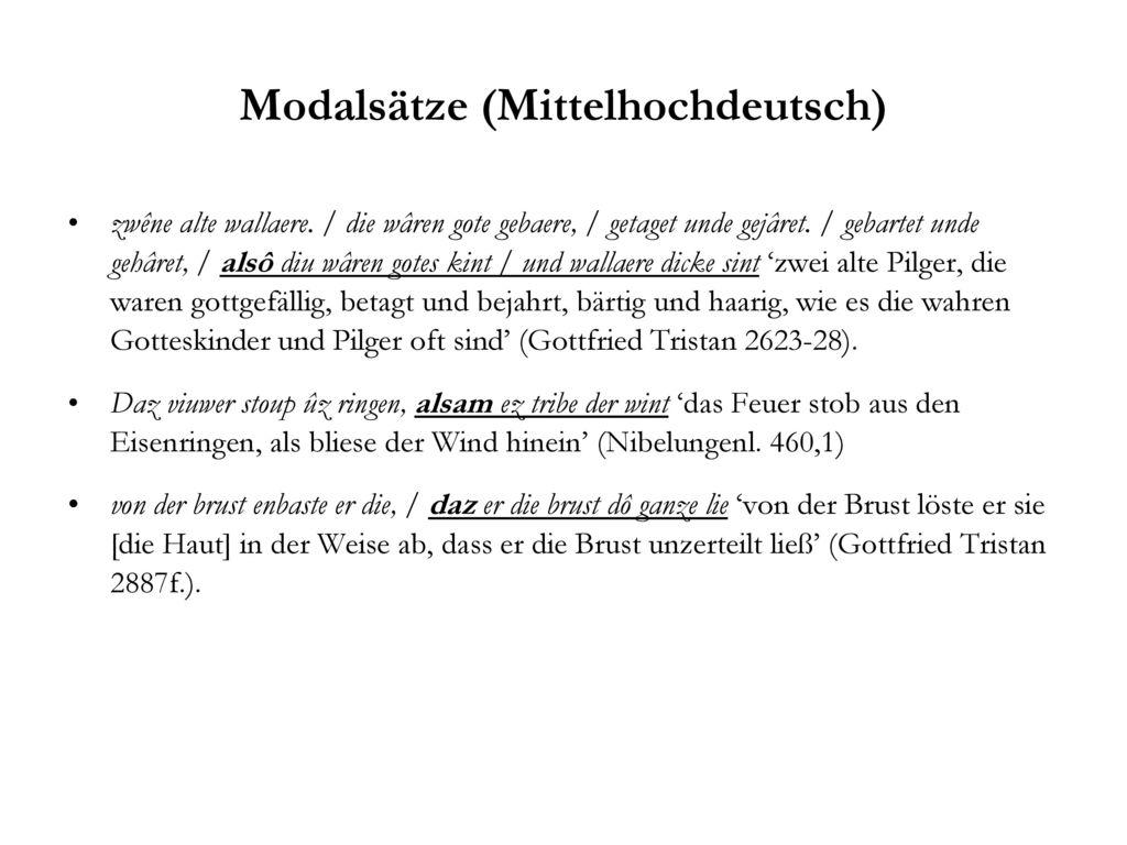 Modalsätze (Mittelhochdeutsch)