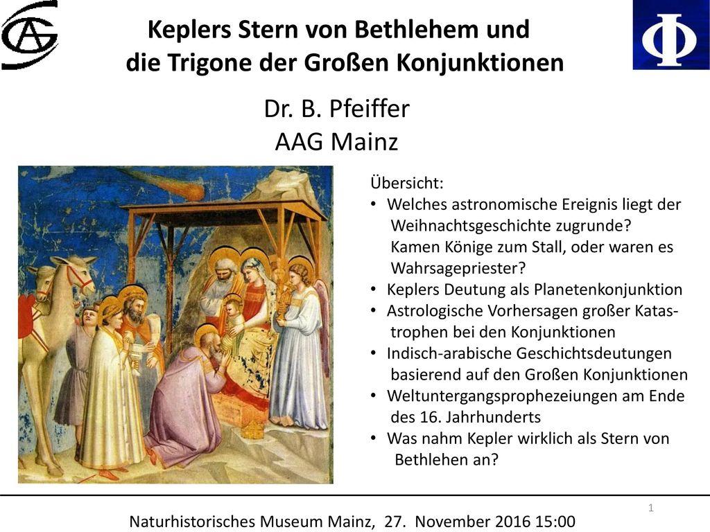 Keplers Stern von Bethlehem und die Trigone der Großen Konjunktionen