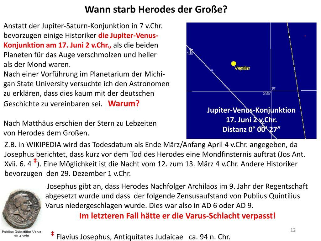 Jupiter-Venus-Konjunktion