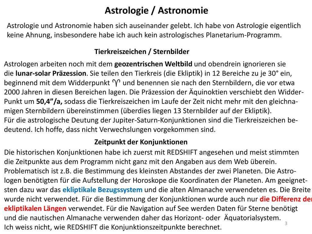 Astrologie / Astronomie