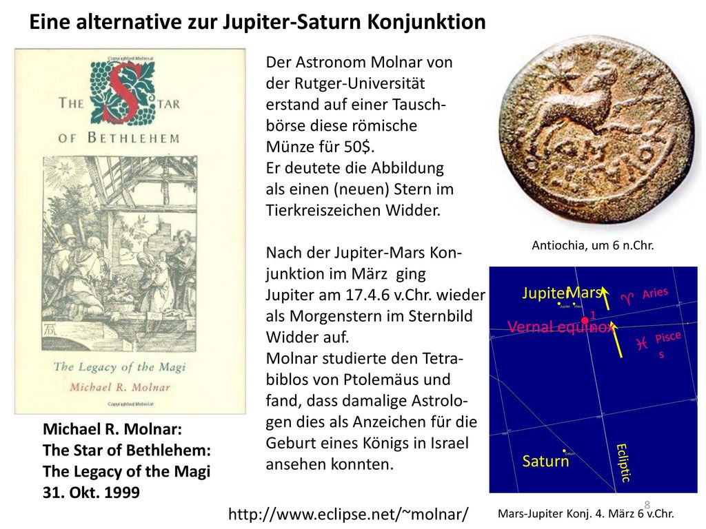 Eine alternative zur Jupiter-Saturn Konjunktion