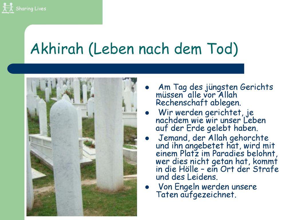 Akhirah (Leben nach dem Tod)
