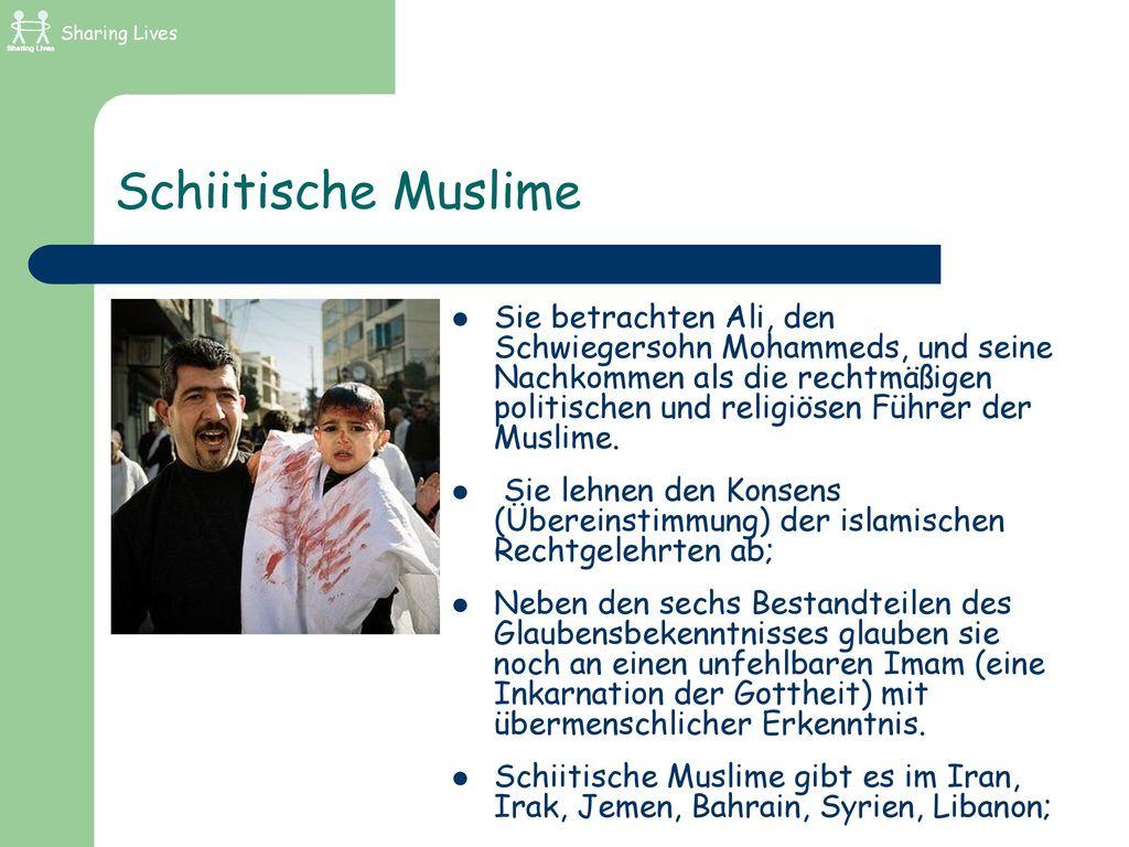 Sharing Lives Schiitische Muslime.