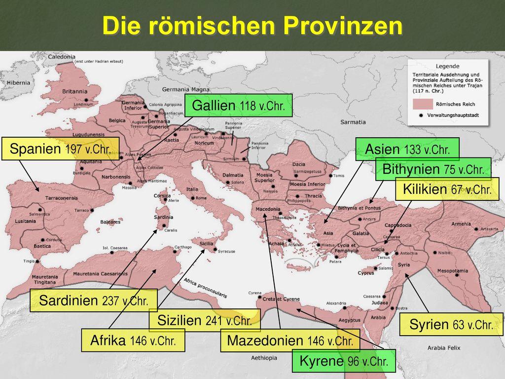 Die römischen Provinzen