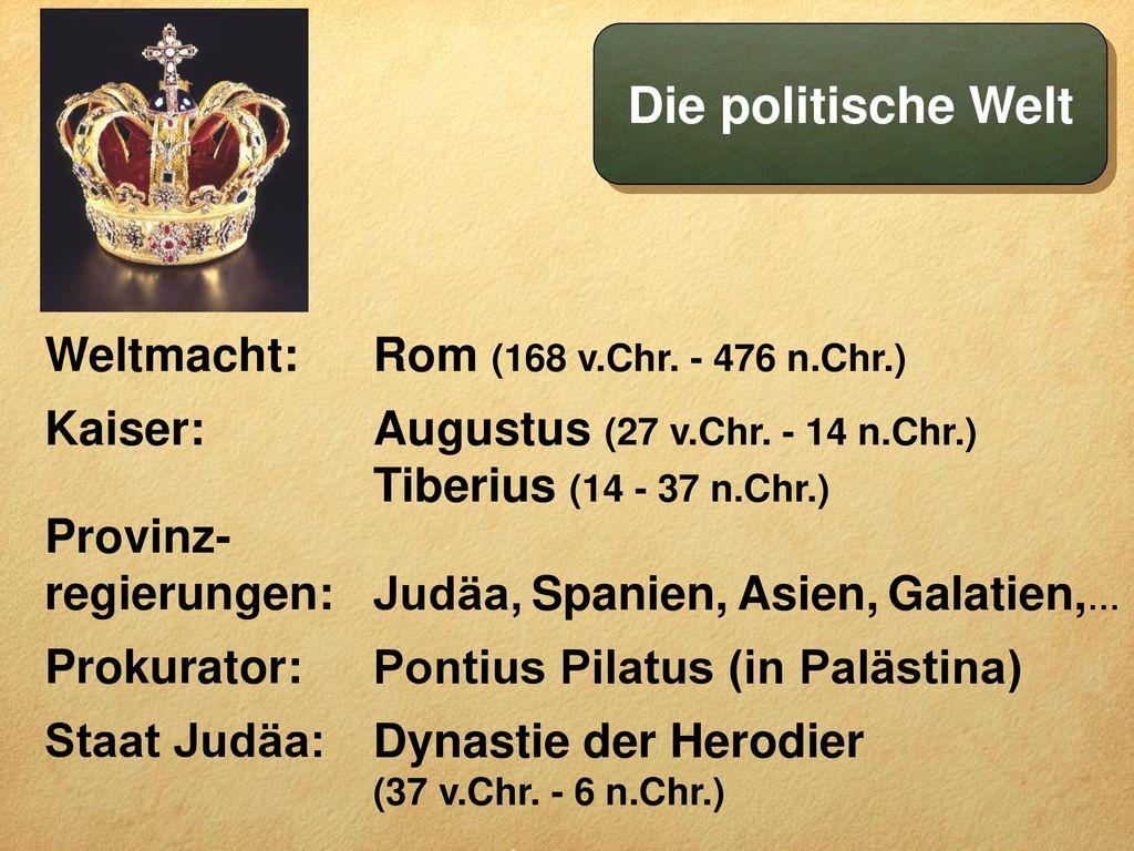 Die politische Welt Weltmacht: Kaiser: Provinz-regierungen: