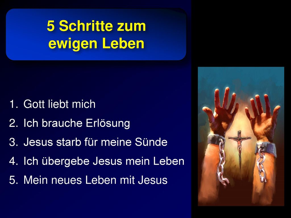 5 Schritte zum ewigen Leben