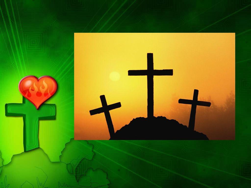 """""""Jesus lebt! stand auf einen kleinen roten Anstecker,"""